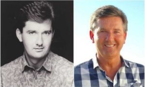 Daniel O'Donnell's eyes and hair color