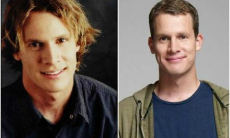 Daniel Tosh's eyes and hair color