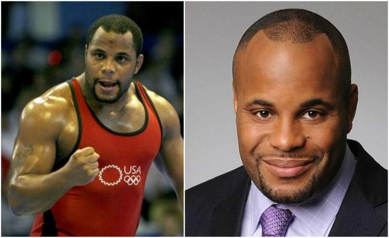 Daniel Cormier's eyes and hair color