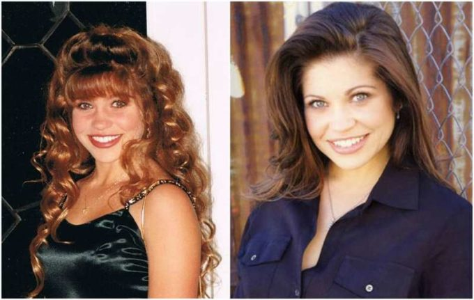 Danielle Fishel's eyes and hair color