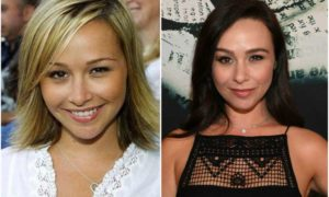 Danielle Harris' eyes and hair color