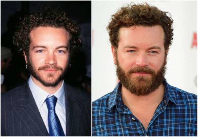 Danny Masterson's eyes and hair color
