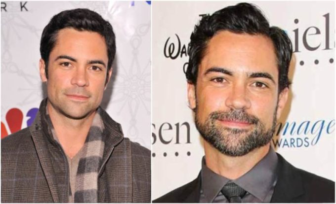 Danny Pino's eyes and hair color