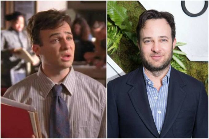 Danny Strong's eyes and hair color