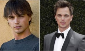 Darin Brooks' eyes and hair color