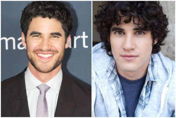 Darren Criss' eyes and hair color