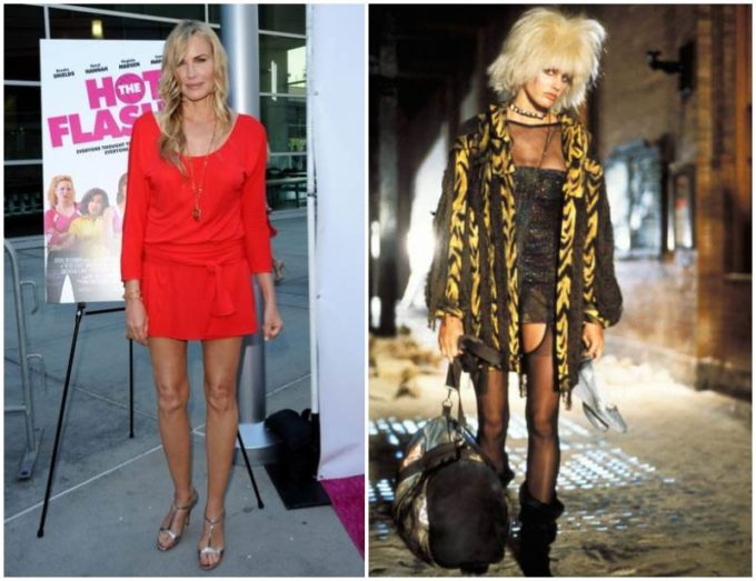 Daryl Hannah's height, weight and body measurements
