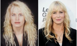 Daryl Hannah's eyes and hair color