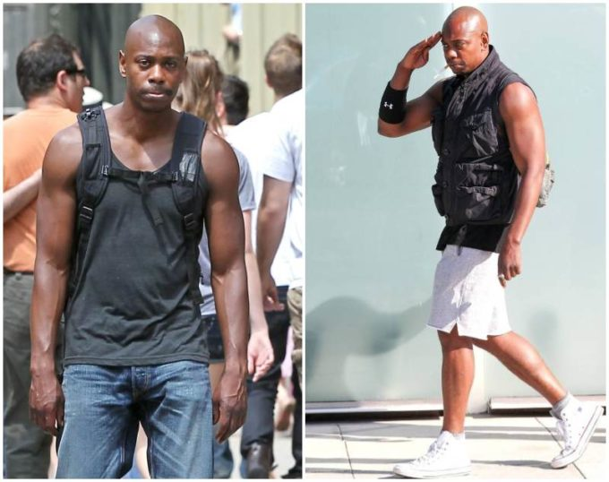 Dave Chappelle's height, weight and body measurements
