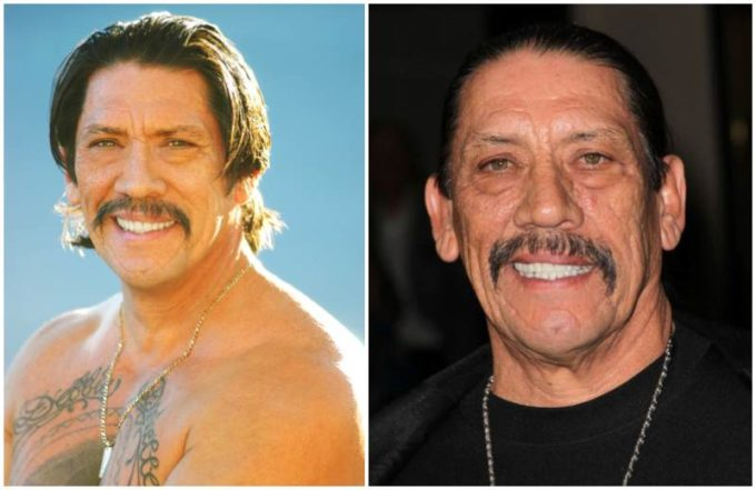 Danny Trejo's eyes and hair color