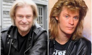 Daryl Hall's eyes and hair color