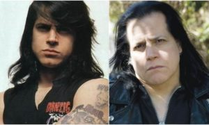 Glenn Danzig's eyes and hair color