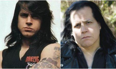 Glenn Danzig's eyes and hair color