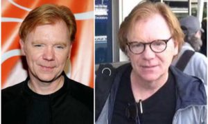 David Caruso's eyes and hair color