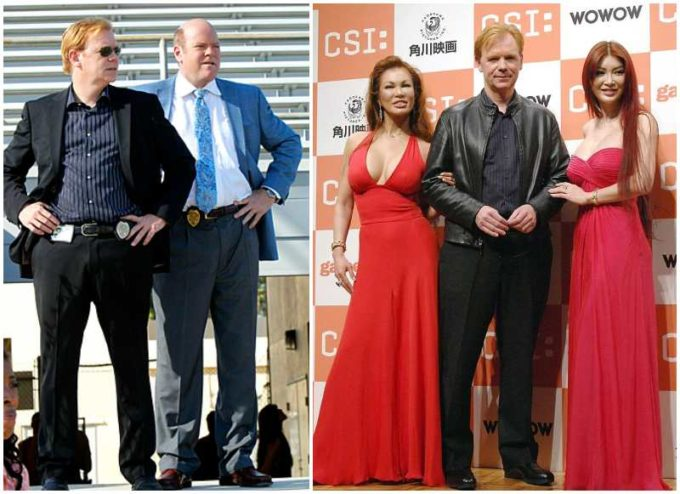 David Caruso's height, weight and age