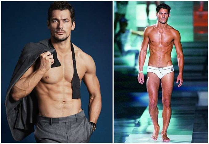 David Gandy's height, weight and body measurements