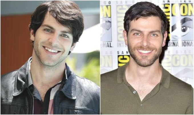 David Giuntoli's eyes and hair color