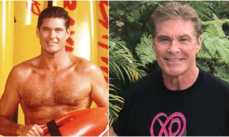 David Hasselhoff's eyes and hair color