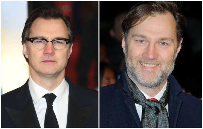 David Morrissey's eyes and hair color