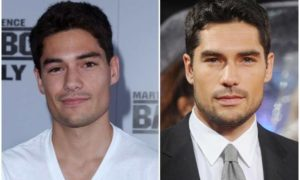 D. J. Cotrona's eyes and hair color