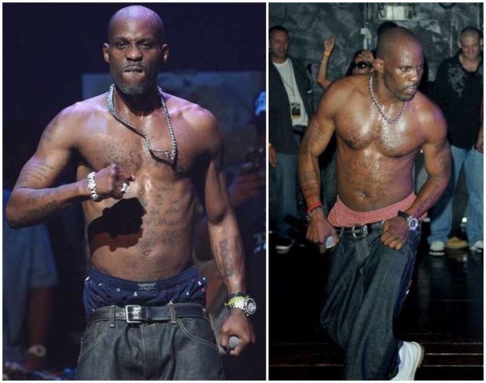 DMX's height, weight and age