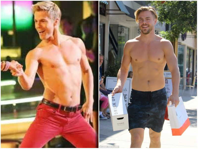 Derek Hough's height, weight and body measurements