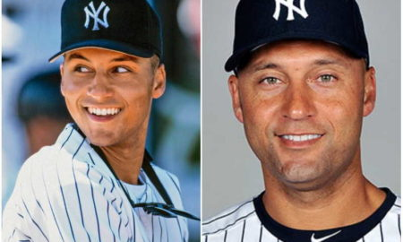 Derek Jeter's eyes and hair color
