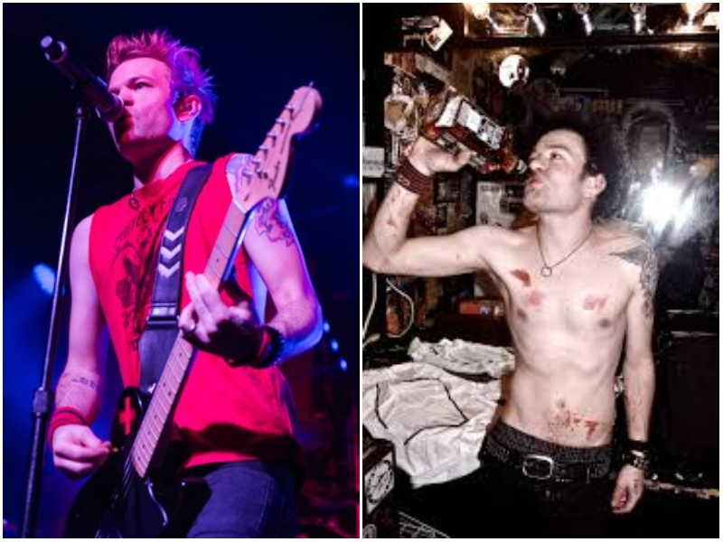 Deryck Whibley's height, weight and age