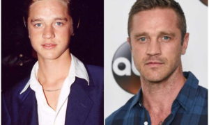 Devon Sawa's eyes and hair color