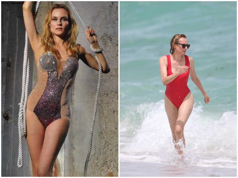 Diane Kruger's height, weight and body measurements
