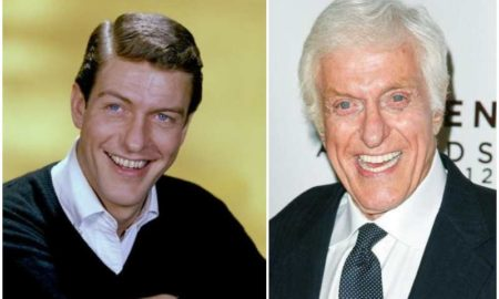 Dick Van Dyke's eyes and hair color