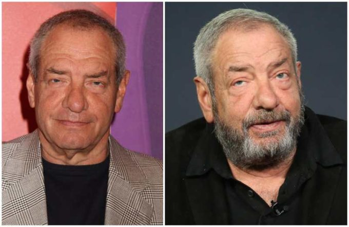 Dick Wolf's eyes and hair color