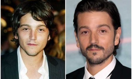 Diego Luna's eyes and hair color