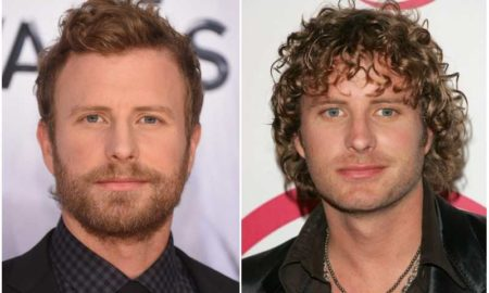 Dierks Bentley's eyes and hair color