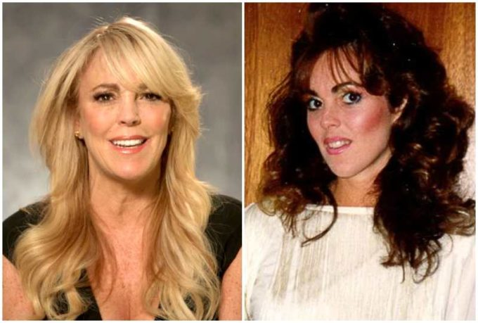 Dina Lohan's eyes and hair color