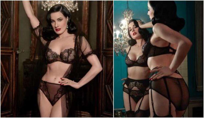 Dita Von Teese's height, weight and body measurements