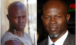 Djimon Hounsou's eyes and hair color