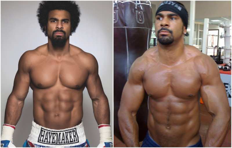 David Haye's height, weight and body measurements