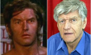 David Prowse's eyes and hair color