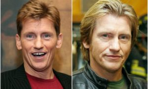 Denis Leary's eyes and hair color