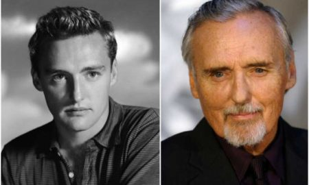 Dennis Hopper's eyes and hair color