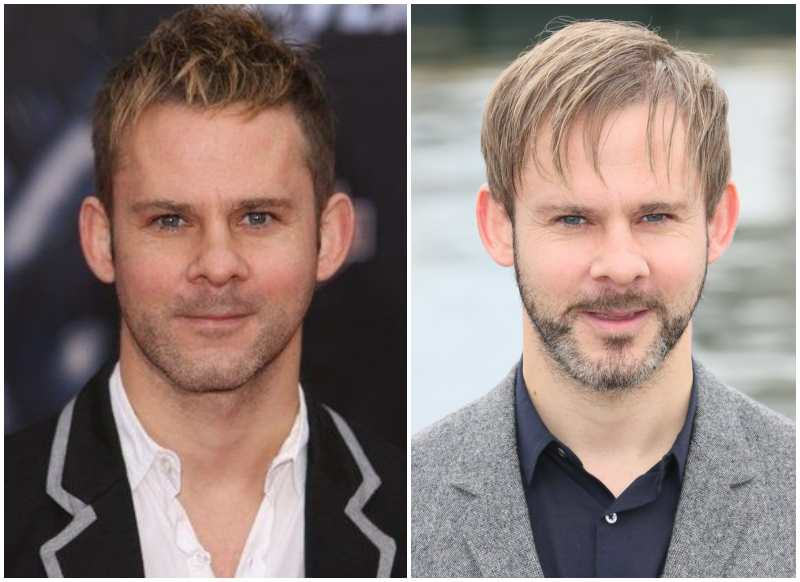Dominic Monaghan's eyes and hair color