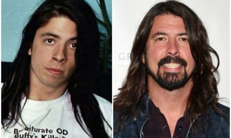Dave Grohl's eyes and hair color