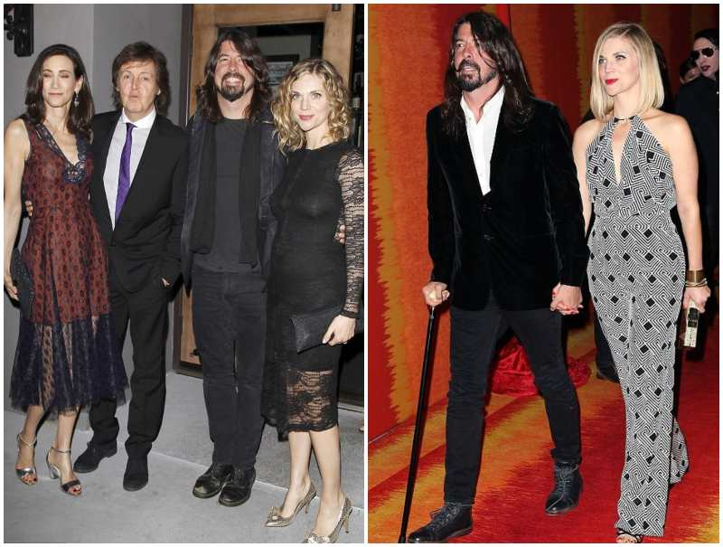 Dave Grohl's height, weight and age