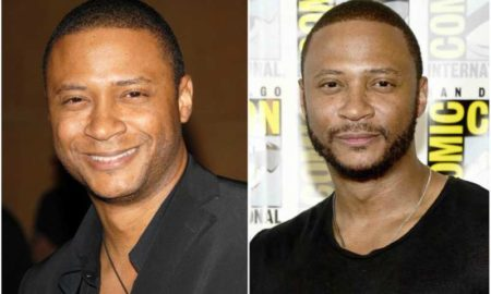 David Ramsey's eyes and hair color