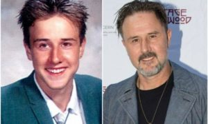 David Arquette's eyes and hair color