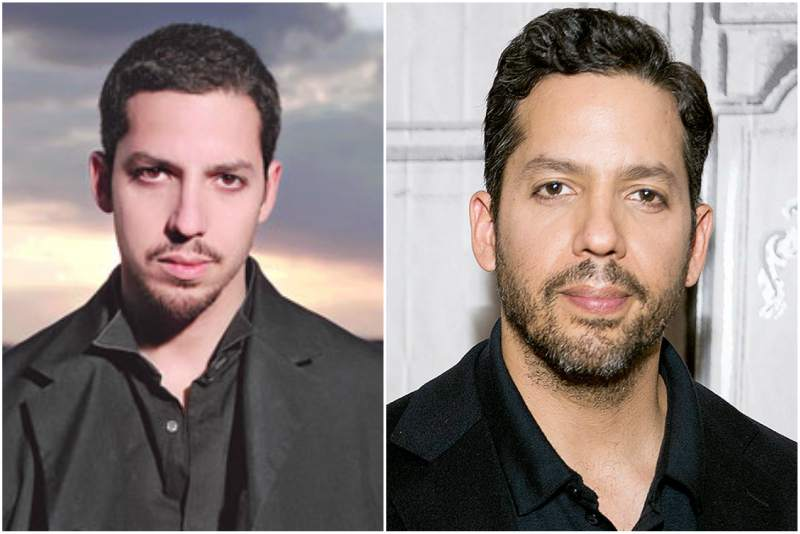 David Blaine's eyes and hair color
