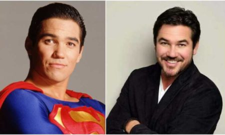 Dean Cain's eyes and hair color