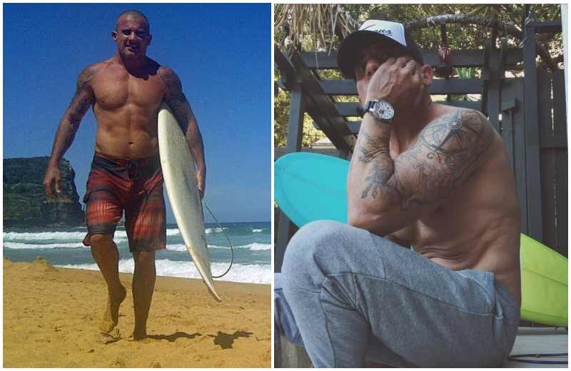 Dominic Purcell's height, weight and body measurements