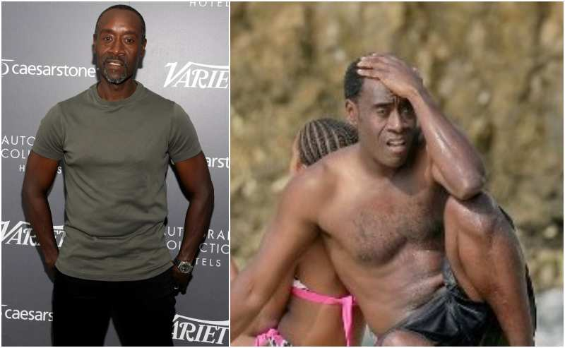 Don Cheadle's height, weight and age